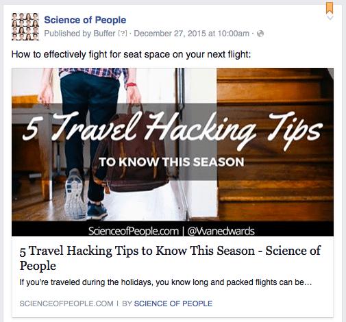 science of people, Facebook