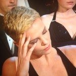 Charlize Theron Shame, body language at the oscars