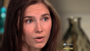 Amanda Knox Surprised