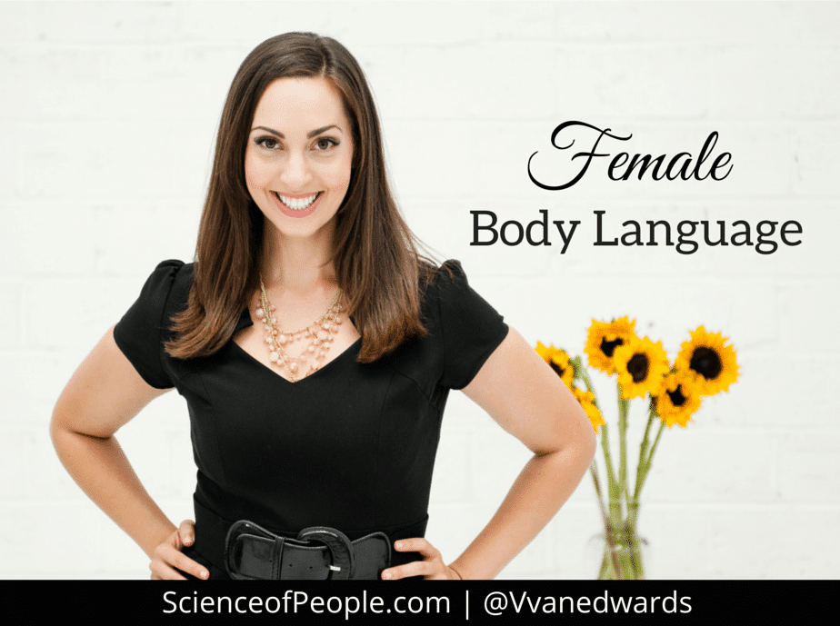 body language to attract a man
