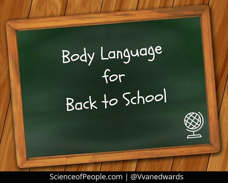 school body language