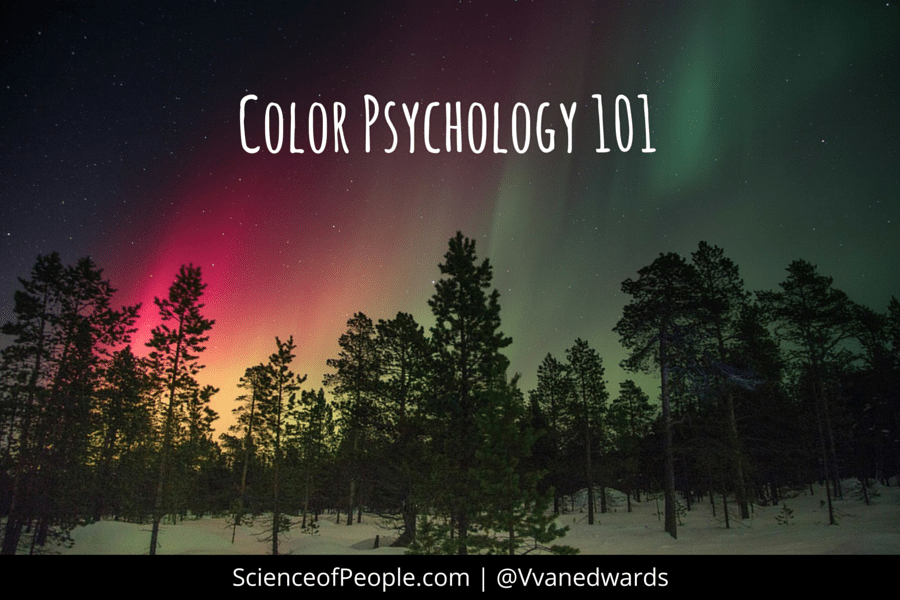 color psychology 101