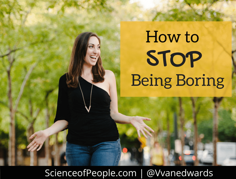 6 Principles You Can Use to Not Be Boring