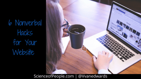 nonverbal hacks for your website