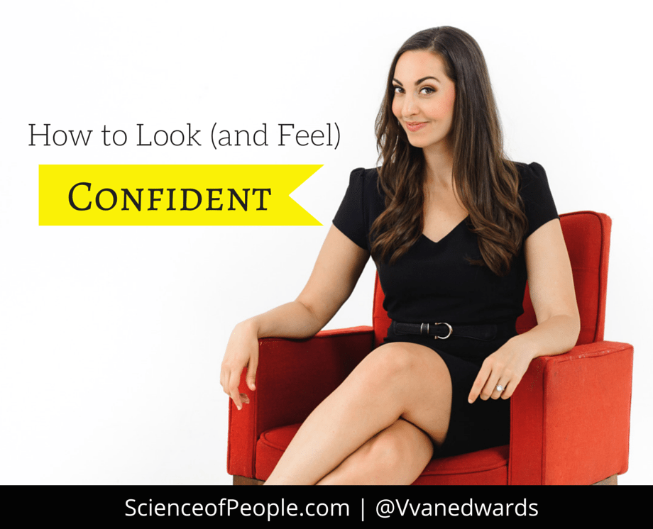 look (and feel) confident
