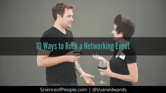 10 Ways to Rock a Networking Event