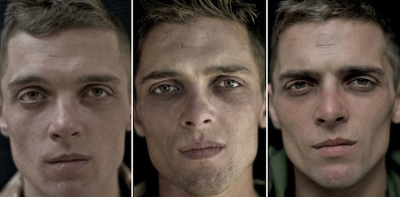 soldiers faces