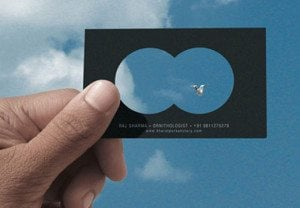 drone card, ways to make your business card awesome