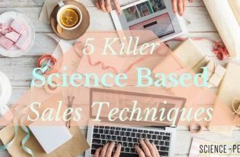 Science-Based Sales Techniques