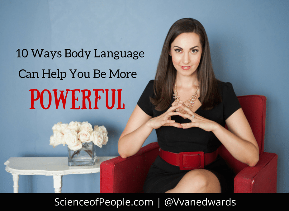 10 Ways Body Language Can Help Women Be More Powerful