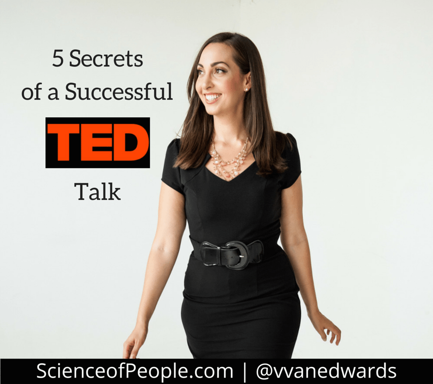 successful ted talk