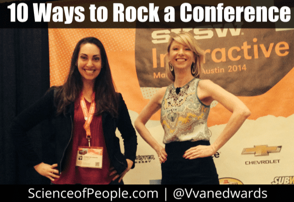 10 Ways to Rock a Conference