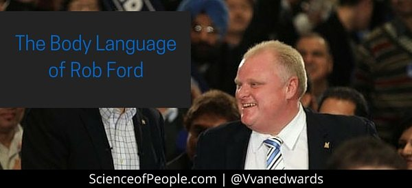 The Body Language of Rob Ford