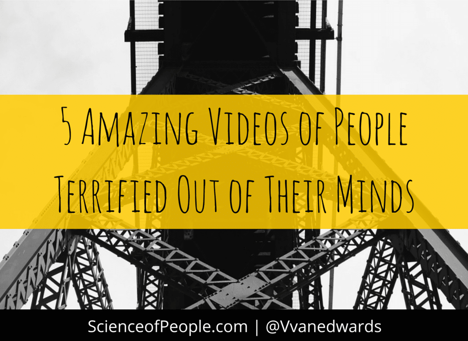 5 Amazing Videos of People Terrified Out of Their Minds