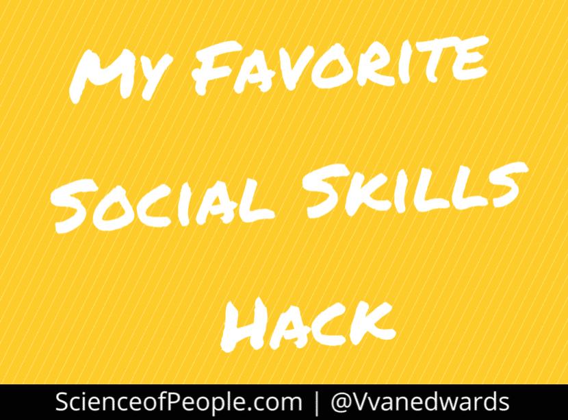 social skills hack