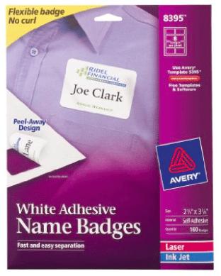 customizable name tags