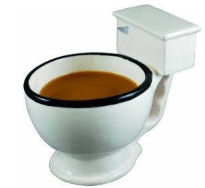 funny toilet mug
