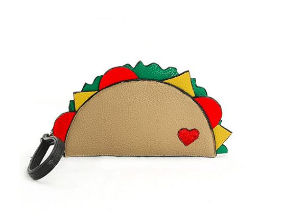 funny taco wallet