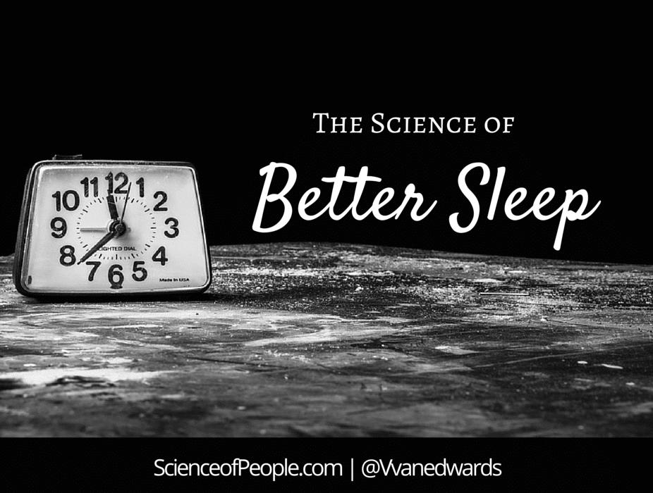 science of Better Sleep
