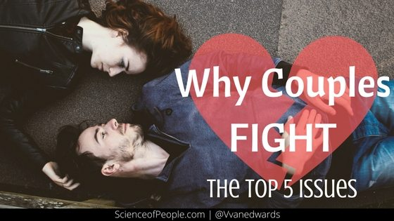why do couples argue over small things