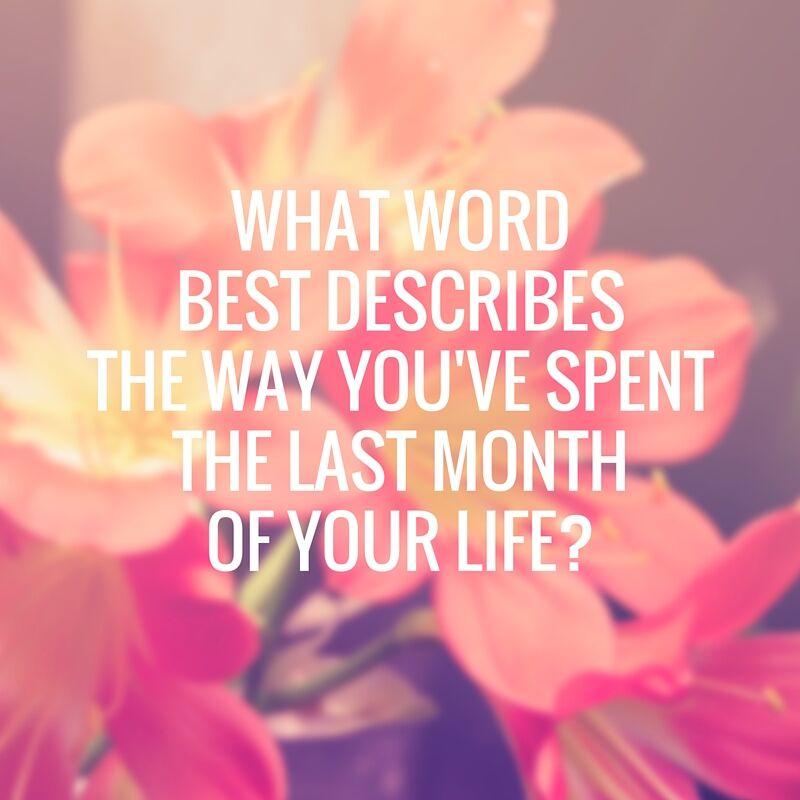 what word best describes