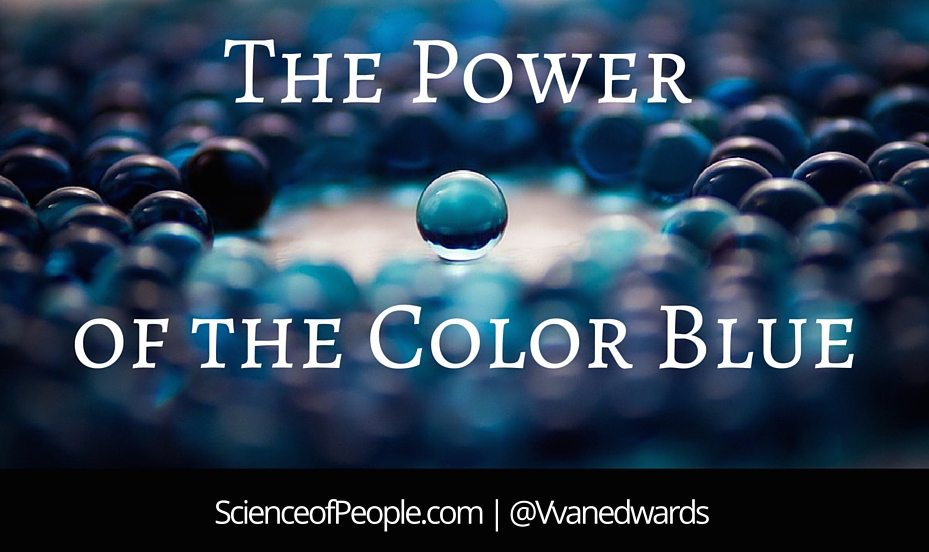 The power of the color blue science of people - The power of color ...