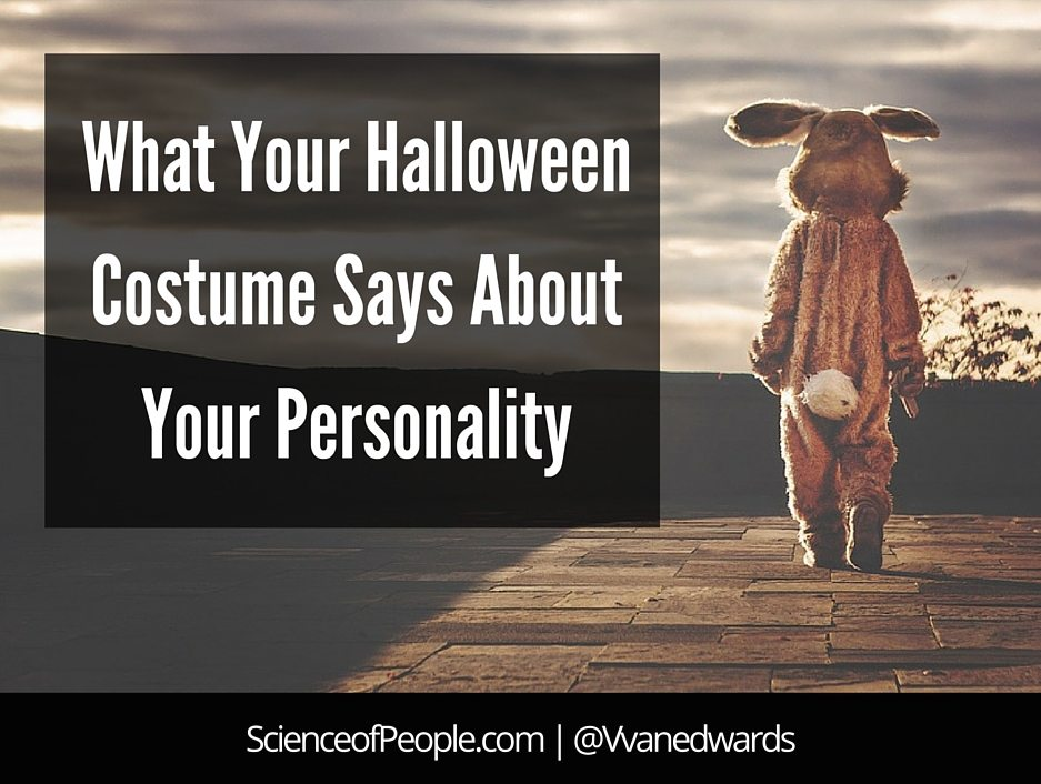What Your Halloween Costume Says About Your Personality