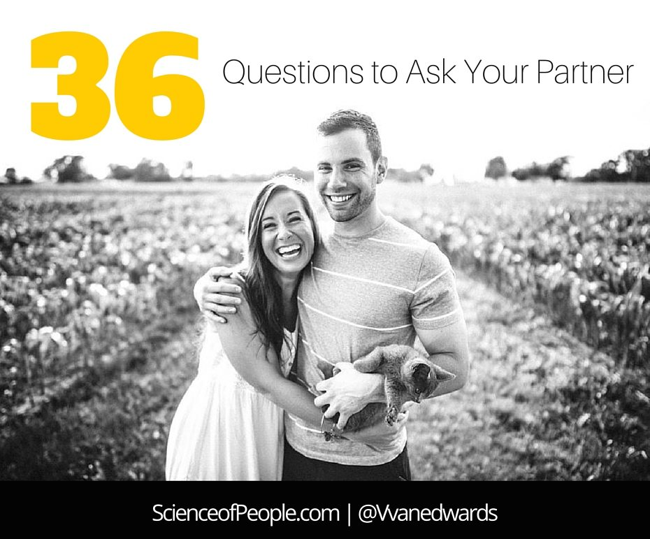 36 Deep Questions to Ask Your Significant Other So You Can Truly Know Them