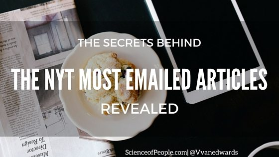 new york times most emailed, new york times articles, secrets, research