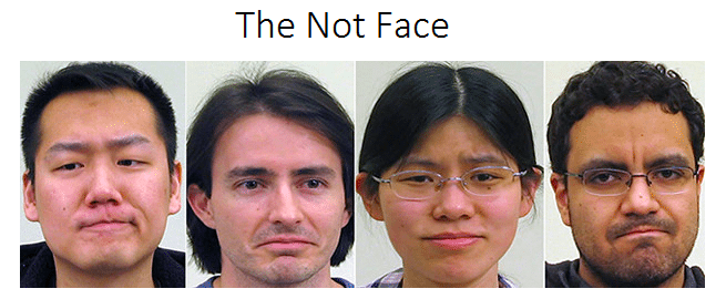 A new universal facial expression? Enter the Not Face