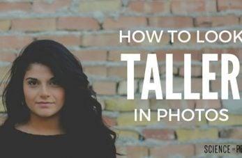 Look Taller in Pictures