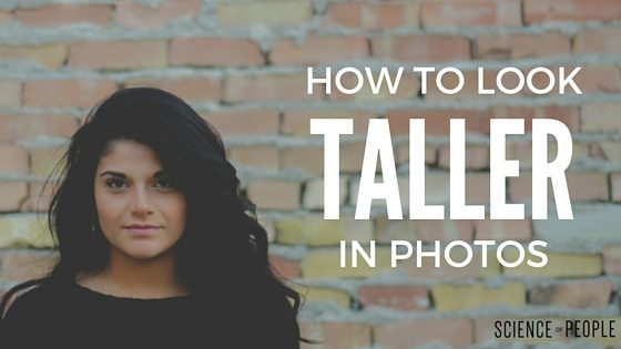 Look Taller in Pictures