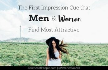Attractive First Impression Cues