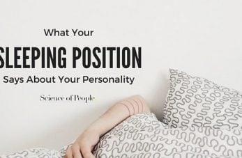 common sleeping positions