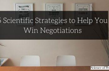 strategies to win negotiations