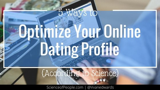 optimize online dating Eharmony is an online dating website it was launched on august 22, 2000, and is based in los angeles, california the company is privately held.