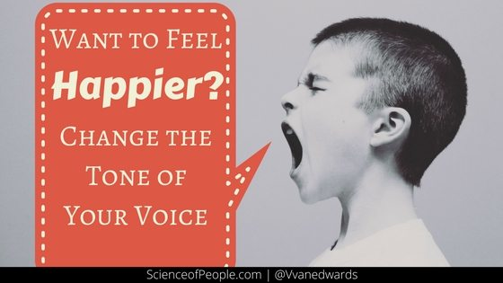 how to change the Tone of Your Voice