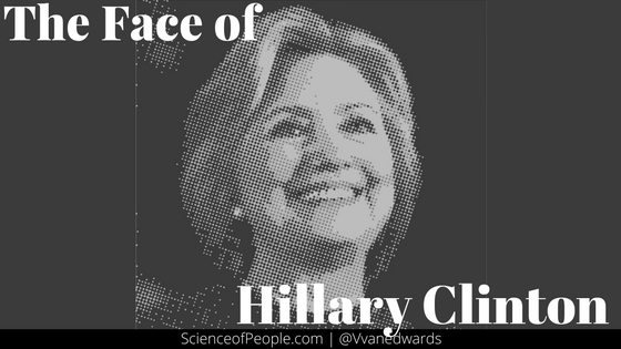 The Face of Hillary Clinton