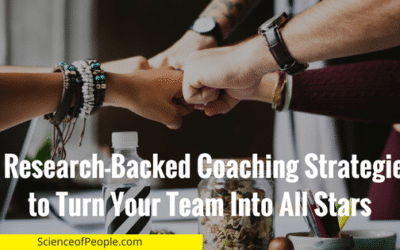 5 Research-Backed Coaching Strategies to Turn Your Team Into All Stars