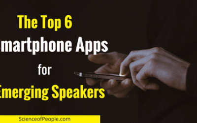 The Top 6 Smartphone Apps for Emerging Speakers