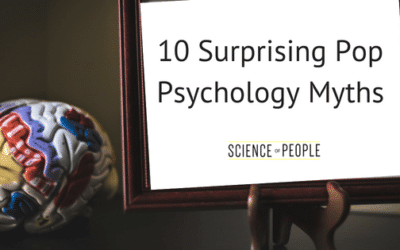 10 Surprising Pop Psychology Myths and the True Science Behind Them