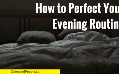How to Perfect Your Evening Routine