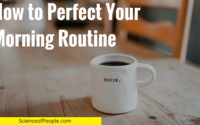 10 Steps to a Perfect Morning Routine