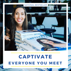 Captivate National Best Seller, Vanessa Van Edwards, The science of succeeding with people
