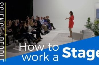 work a stage
