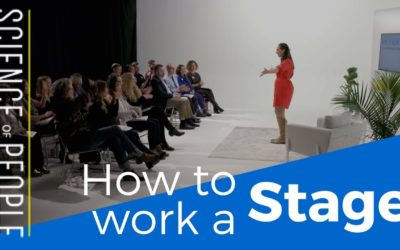 How to Work a Stage Like a Pro and Win the Crowd