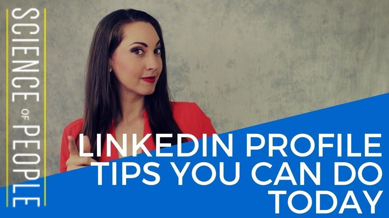 tips for linkedin profiles