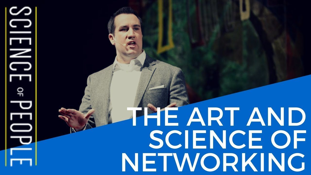 art and science of networking, david burkus