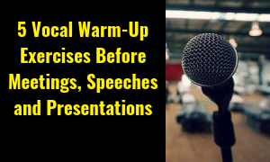 vocal warm ups