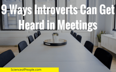 9 Ways Introverts Can Get Heard in Meetings